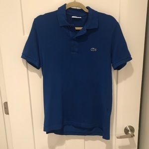 Lacoste for J Crew polo